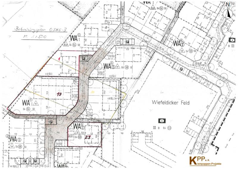 Zeichnerische Darstellung B-Plan O 385 Wiefeldicker Feld-800x566_2
