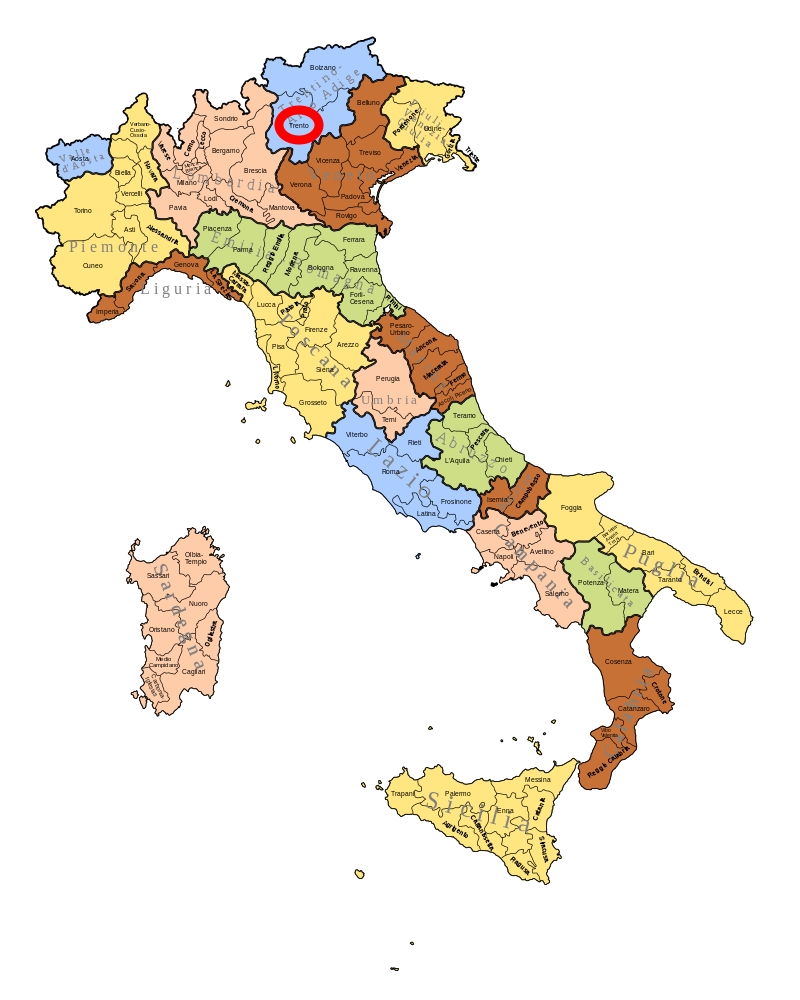 Trient (Trentino-Südtirol)